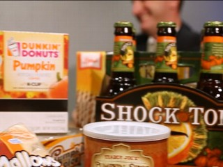 Watch: Fall Brings Pumpkin Flavor Craze