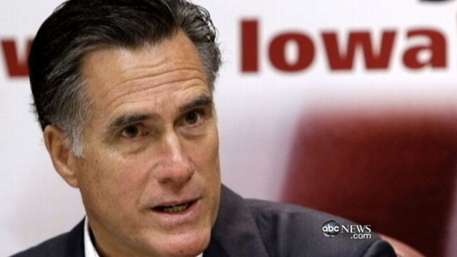 VIDEO: Republican presidential hopefuls campaign in Iowa this weekend except Romney.