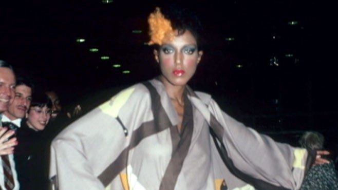 VIDEO: 40 years ago U.S. designers shocked everyone at Versailles by using black models.