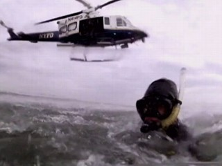 Watch: Hurricane Sandy Rescue Efforts: New York Scuba Crew on Standby