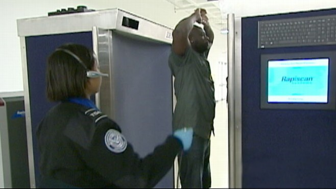 VIDEO: A rebellion is growing in America's airports over revealing body scan machines.
