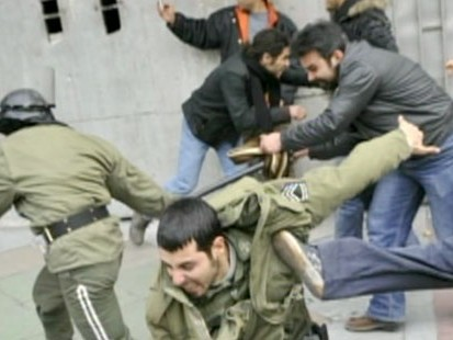 VDIEO: Images emerge from protests where eight Iranians were killed.