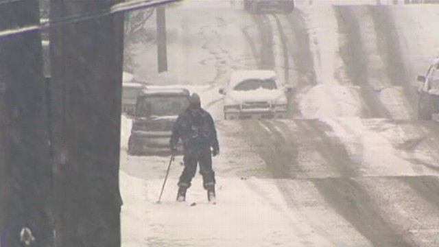 VIDEO: Rainy region braces for worst blizzard in 25 years.