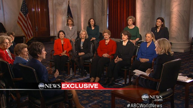 VIDEO: Incoming female senators sit down with Diane Sawyer to discuss the budget negotiations.