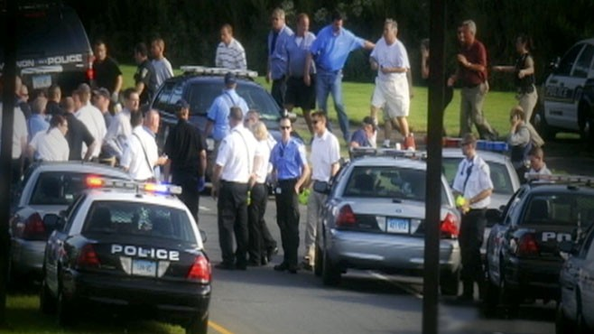 VIDEO: An angry employee at a Connecticut beer distribution center killed nine people.