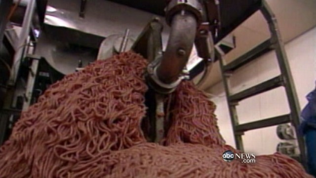 VIDEO: USDA responds to public outrage over ground beef filler.