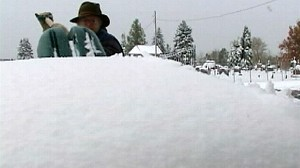VIDEO: Autumn Snow Blankets Pennsylvania