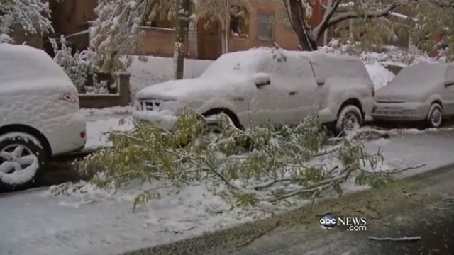 VIDEO: Winter weather hits Texas and Colorado, moves toward East Coast.