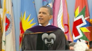 VIDEO: President Obama will speak at the Kalamazoo Central High School graduation.