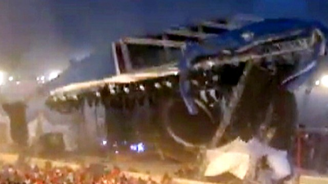 Deadly Stage Collapse