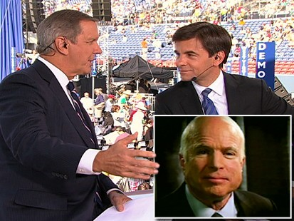 Charles Gibson and George Stephanopoulos