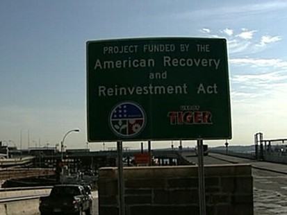 VIDEO: President Obama fights back against complaints that the stimulus was wasteful.