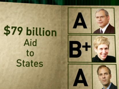 VIDEO: Economy stimulus report card