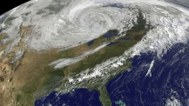VIDEO: Yunji Di Nies on the 2,000-mile-wide storm sweeping across the country.