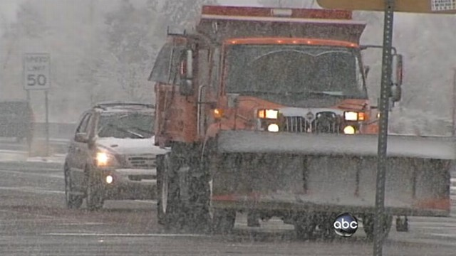 VIDEO: Parts of the U.S. prepare for a White Christmas.