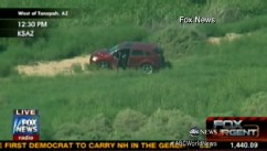 VIDEO: High-speed car chase ends in a grisly scene as broadcast live on Fox News Channel.