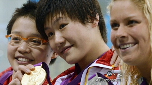VIDEO: Chinese swimmer Ye Shiwen outpaces even the fastest male athlete in record win.
