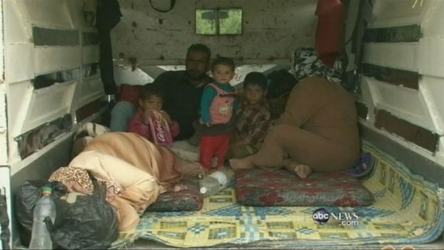 VIDEO: Alexander Marquardt follows familys story as situation intensifies in Syria.