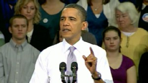 VIDEO: After signing health care bill, the president rallies for mid-term votes in Iowa