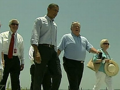 VIDEO: Obama Visits the Gulf Coast