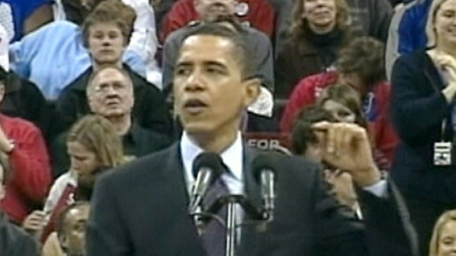 VIDEO: The president hits the road in an effort to give Democrats more momentum.