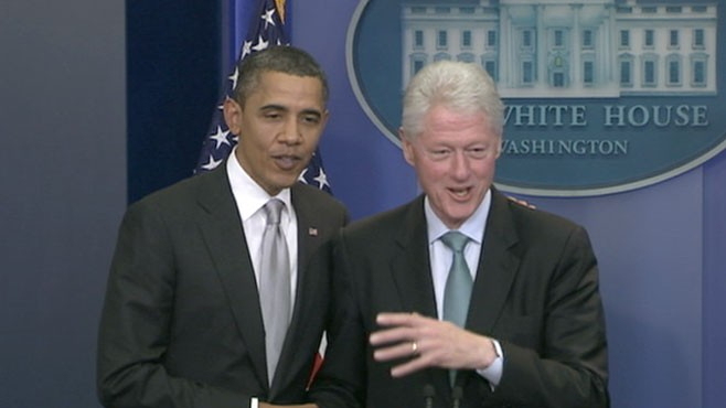 VIDEO: Presidents hold a press conference to unify the fragmented Democratic party.