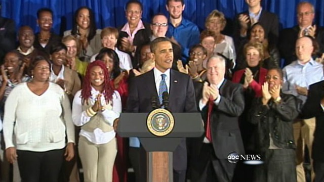 VIDEO: The president looks ahead to next years election while the DNC attacks Romney.