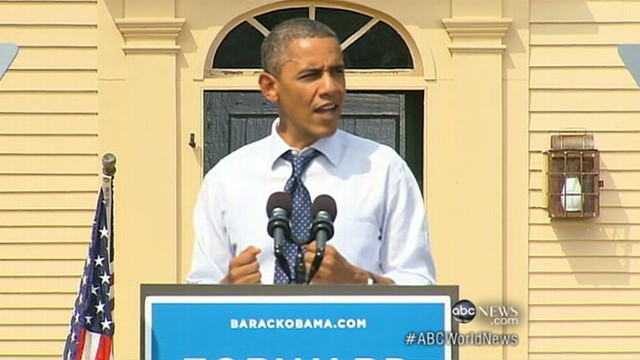 VIDEO: New unemployment figures released the day after presidents speech at DNC.