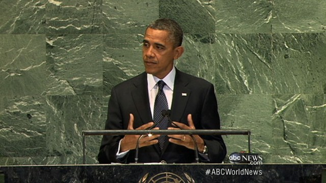 VIDEO: President Obama delivers message at United Nations.