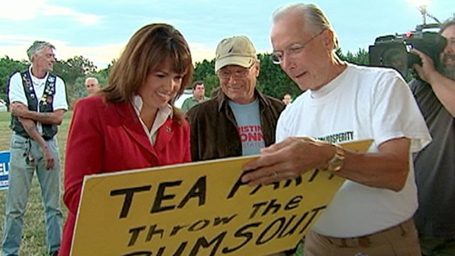 VIDEO: Marketing consultant Christine ODonnell may win the midterm primary for Senate.