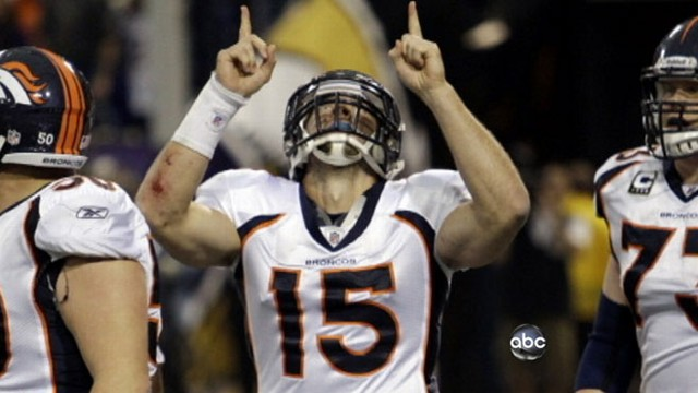 """VIDEO: Is faith behind the Broncos """"miraculous"""" victory and winning streak."""