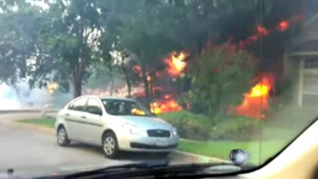 VIDEO: Firefighters gain control of fires; victims try to come to grips with losses.