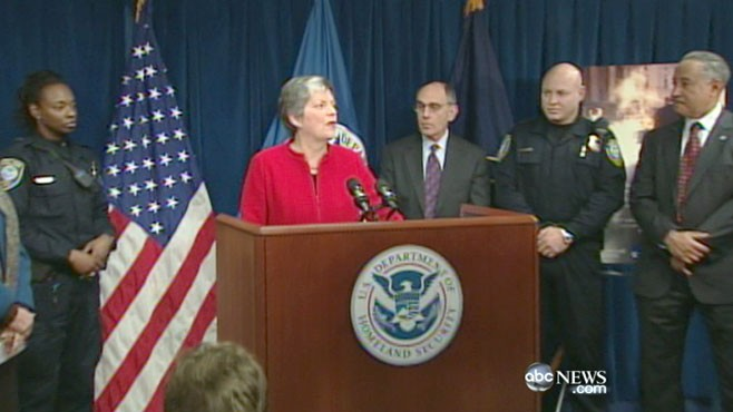 VIDEO: A day after similar packages hit Maryland, DHS Secretary becomes target.