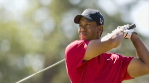 VIDEO: Tiger Goes off Course