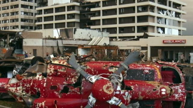 VIDEO: Tornado flattens St. John?s Regional Medical Center.