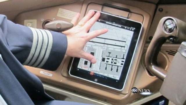 VIDEO: Government may reconsider use of personal electronics on planes.