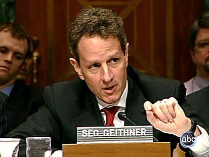 VIDEO: Geithner Grilled on the Hill