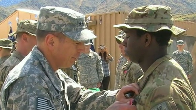 VIDEO: U.S. Troops in Afghanistan Honored