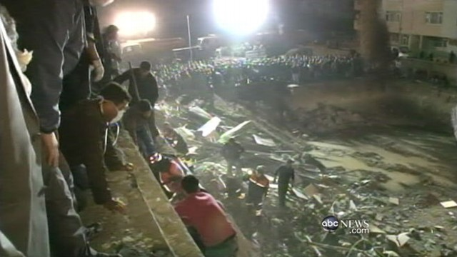 VIDEO: Rescuers race to find missing victims after 7.2 quake.