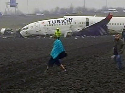 VIDEO: Turkish Jet Crash Leaves 9 Dead