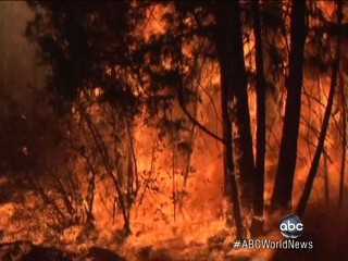 Watch: Fires Rage on in California
