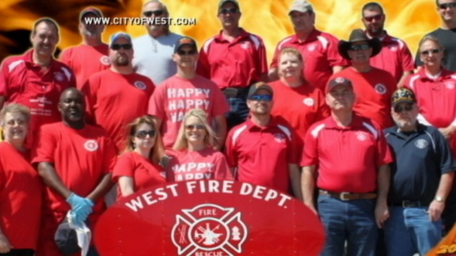 VIDEO: Small town comes together in wake of fertilizer plant explosion.