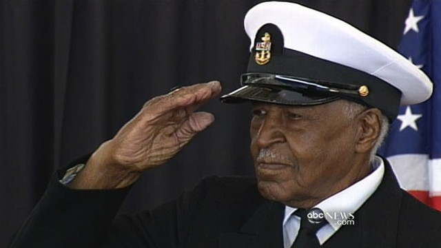VIDEO: Navy recognizes war hero 66 years later.