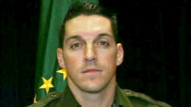 VIDEO: A manhunt is under way to find Brian Terry's killer.