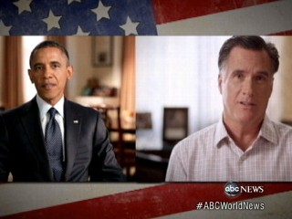 Watch: Obama, Romney Aim for Early Voters Before First Debate