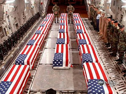 VIDEO: Photographing Flag-Draped Coffins
