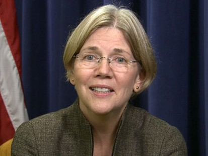 VIDEO: Warren, daughter of a janitor, will head new consumer agency.