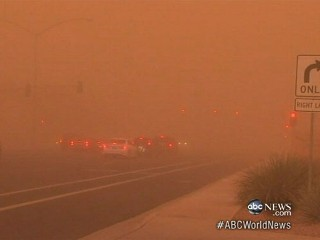 Watch: Phoenix Dust Storm Turns Arizona Sky Red