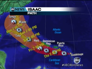 Watch: Isaac Rolls in to Florida; RNC Ready?