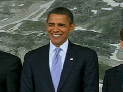 VIDEO: Obama attends G8 summit in Italy
